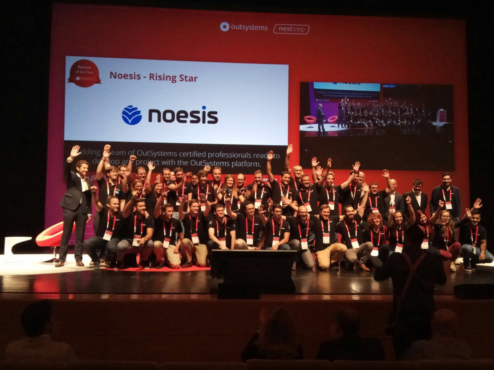 Team Noesis at OutSystems NextStep represents Specialized Team